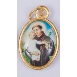 Colour Saint Anthony Assisi Medal