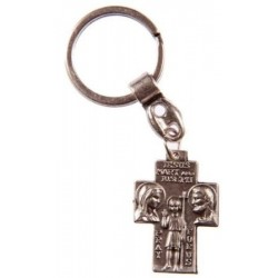 St Christopher and Holy Family Keyring