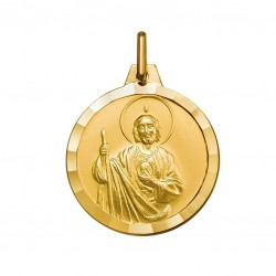 18 mm 9ct Gold St Jude Medal