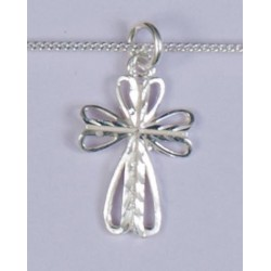 A wide range of Sterling Silver religious medals, crosses and