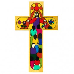 25cm Christ of All Nations Cross