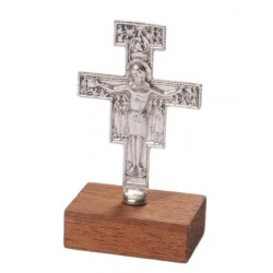 8 cm Self Standing Franciscan Cross Crucifix