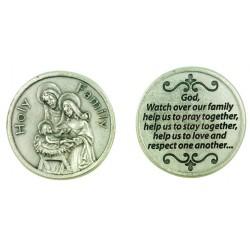Holy Family Prayer Token