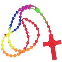 Rubber Rosary Beads