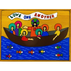 Love One Another Wall Plaque